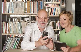 Senjorai grįžta į mokymus: žinias gilina skaitmeninio raštingumo klasėse internete