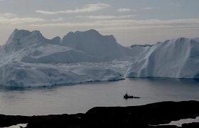 Giliai po Grenlandijos ledo danga slepiasi didžiulis ežero lovys: čia slypi daugybė informacijos