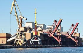 Krova Ventspilio uoste pirmąjį pusmetį sunyko 41 proc.