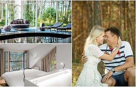 Tėvų viešbutį pavertė instagraminiu: visi kambariai skirtingi, o pirtis – su vaizdu į upę