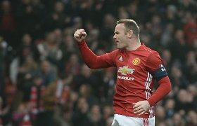 """""""Man Utd"""" pergalė FA taurės starte pažymėta Wayne'o Rooney istoriniu pasiekimu"""
