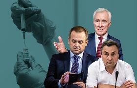 """Seimo nariai gali rinktis, kuo skiepytis: A.Skardžius """"AstraZeneca"""" nepasitiki, D.Kepenis mano, kad politikai išdavė Vydūną"""
