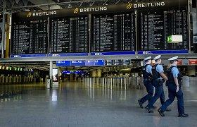 """Frankfurto oro uosto operatorė """"Fraport"""" planuoja atleisti beveik penktadalį darbuotojų"""