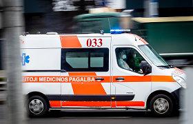 Alytuje mirė iš miško į ligoninę vežama sušalusi moteris