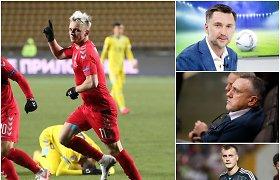 Mūsų futbolo žvaigždės apie Lietuvos rinktinę: ar turime džiaugtis 3 vieta?