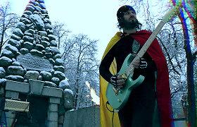 """E.Masytės """"Laisvė"""" pergrota elektrine gitara: išgirskite"""