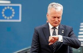 G.Nausėda ragina JT skirti daugiau dėmesio žmogaus teisių pažeidimams Baltarusijoje
