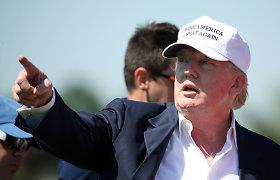 D.Trumpas kitą G-7 susitikimą nori rengti savo golfo kurorte: ar tai etiška?