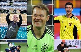 """""""Euro 2020"""": vienintelis lietuvis, vartininkai žvaigždės ir kur smūgiuoti nuo 11 metrų"""