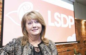 Socialdemokratų partijos pirmininke išrinkta V. Blinkevičiūtė
