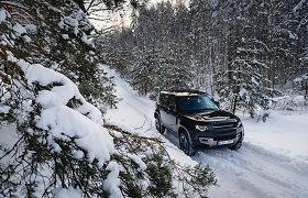 Gausus sniegas atskleidė silpnąsias netikrų visureigių vietas