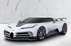 """Kaip tai įmanoma: """"Volkswagen"""" bandys parduoti """"Bugatti"""", bet kontroliuos gamintoją per """"Porsche""""?"""
