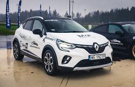 """Hibridinis """"Renault Captur"""" – tarp septynių geriausių """"Lietuvos metų automobilių"""""""