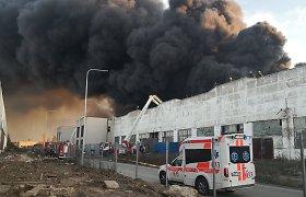 Pareikštas ieškinys dėl Alytaus gaisro padarytos žalos atlyginimo