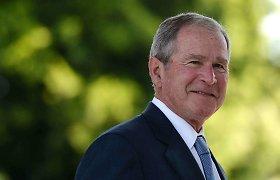 Buvęs JAV prezidentas G.W.Bushas dalyvaus Joe Bideno inauguracijoje