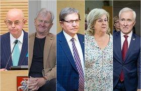 Seimo senjorai: A.Vinkus jau pasiskiepijo nuo COVID-19, D.Kepenis persirgo, kiti vakcinų laukia