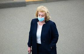 Seimas galutinai atmetė siūlymą dėl apkaltos I.Rozovai