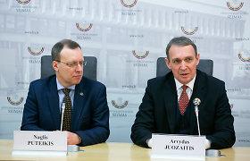 A.Juozaičiui ir N.Puteikiui susitarti sunku: gali konkuruoti net vienmandatėse