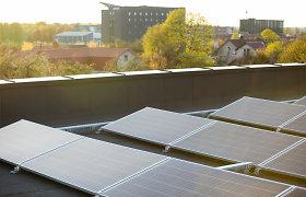 """Namo renovacijos projektas vilnietį įkvėpė įsigyti dalį saulės parko: """"Tai finansiškai apsimoka"""""""