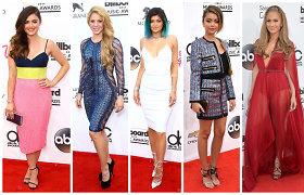 """""""Billboard"""" muzikos apdovanojimų suknelės: pataikė į dešimtuką ar prašovė pro šalį?"""