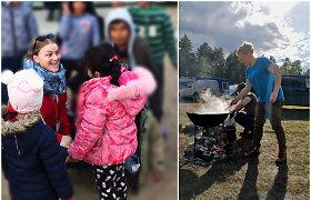 """Pabėgėlių stovyklose savanoriaujanti Aistė: """"Žmogiškumas visada nugali baimę"""""""