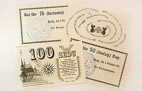 Žemaitiškų pinigų istorija: ar žinojote, kad prieš 100 metų Seda turėjo savus pinigus?