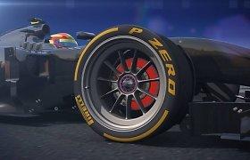 """""""Pirelli"""" pristatė 18 colių padangas F-1 bolidams"""