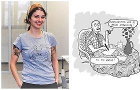 Ketvirtadienį sostinės knygyne-kavinėje – susitikimas su komikso apie A.J.Greimą autore