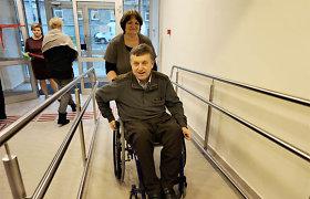 Kai gyvenimą tenka pradėti iš naujo: kaip jaučiasi žmogus, po traumos atsidūręs vežimėlyje