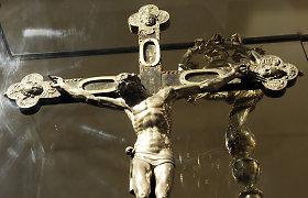 Parodoje eksponuojamas susimąstęs Kristus