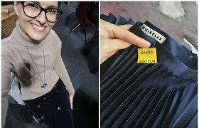"""20 metų dėvėtus drabužius medžiojanti Monika atskleidžia, ką pirkti verčiausia: """"Daugiausia laimikių randu rytais"""""""