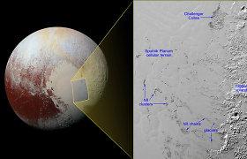 """""""New Horizons"""" atskleidė, kas darosi su Plutono ledo struktūromis – tai padėjo išspręsti 50 metų senumo mįslę"""