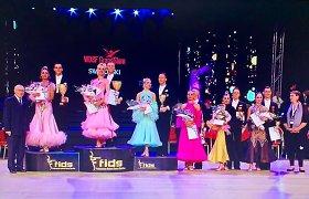 Prestižinių sportinių šokių varžybų Italijoje finale – du Lietuvos duetai