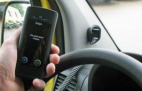 Nuo 2020 metų – galimybė anksčiau atgauti pažymėjimą vairuotojams, kurie prie vairo sėdo neblaivūs