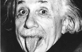 Einsteinas nežinojo laimingos santuokos formulės, rodo jo laiškai