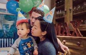 """""""Facebook"""" įkūrėjo Marko Zuckerbergo šeima"""