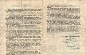 Testas: Ar žinote aštuonis Lietuvos laisvės kovos sąjūdžio deklaracijos signatarus?