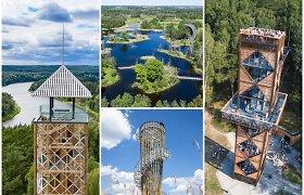 Testas MAX prenumeratoriams: ar pažinsite šiuos 10 Lietuvoje esančių apžvalgos bokštų?