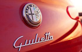 """""""Alfa Romeo"""" atsisako """"Mito"""" ir """"Giulietta"""" hečbekų – juos pakeis sedanai su galiniais varančiaisiais ratais"""