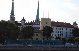Neteisėto Latvijos statybų kartelio dalyvių statybos projektų sąraše – ir Rygos pilis