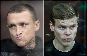 Rusiją sukrėtusi byla – rinktinės futbolininkams gresia 7 metai kalėjimo