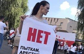 Baltarusijoje sulaikyta dar viena valdžią kritikavusi daugkartinė čempionė