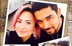 Demi Lovato viešai išreiškė jausmus savo širdies draugui Wilmeriui Valderramai