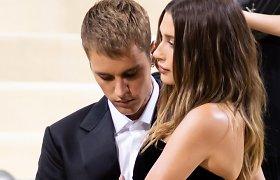 "Justinas Bieberis ir Hailey Bieber ""Met Gala"" pokylyje"