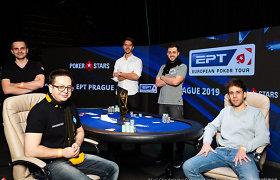 Kovoje dėl milijono EPT Prahoje - 5 pretendentai