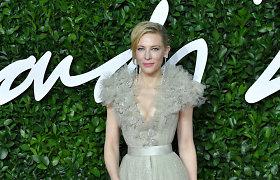 Aktorė Cate Blanchett pirmininkausVenecijos kino festivalio žiuri