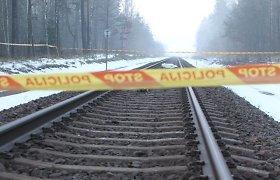 Geležinkelio stotyje Vilkaviškio rajone rastas mirusio vyro kūnas