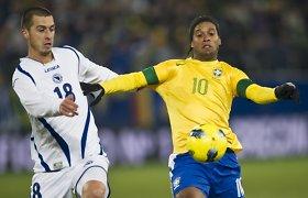 Bičiulis prasitarė, kodėl vakarėlių liūtas Ronaldinho visad praleisdavo pirmadienio treniruotes