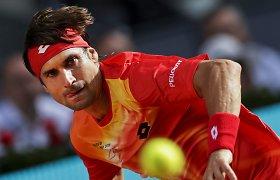 Įspūdingos karjeros pabaiga – Davidas Ferreras atsisveikino su tenisu
