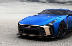"""""""Godzila"""" ant ratų: 50 benzingalvių už šį """"Nissan GT-R50"""" mokės po milijoną eurų"""